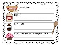 1st Grade Reading Comprehension Worksheets Synthesizing Worksheet Teacher Stuff U003c3 Pinterest Worksheets