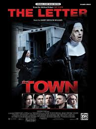 the letter from the town piano sheet harry gregson williams
