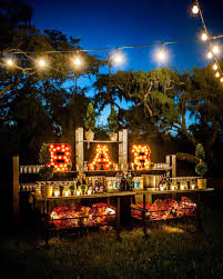 outdoor party decoration ideas diy homemade outdoor halloween