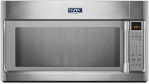 Ventless Microwave Maytag Mmv5219ds 2 1 Cu Ft Over The Range Microwave Oven With
