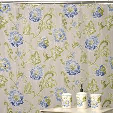 Curtain In Bathroom Waverly Shower Curtains Refresh Jazzbery Shower Curtain