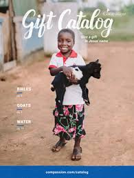 compassion s gift catalog