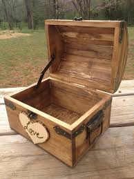 wedding wishes keepsake box rustic wedding chest letter chest notes