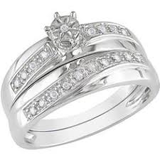 Walmart Wedding Ring Sets by 1 2 Carat T W Marquise And Parallel Baguette Diamond Engagement