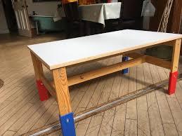 adjustable height kids table ikea sansad kids adjustable height table in grange edinburgh