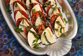 ina garten tomato stylish cuisine roasted tomato caprese salad