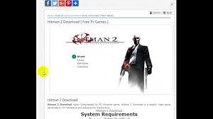 hitman 2 download youtube