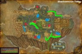 World Treasure Map by Wow Rare Spawns Shadowmoon Valley Rares