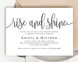brunch invitation template brunch invitation etsy