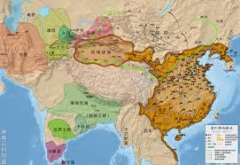 China On Map by Qin Han China Ancient World History
