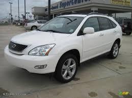 lexus rx400h white 2008 crystal white lexus rx 350 32268921 gtcarlot com car