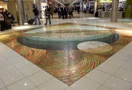 new mosaic art at atlanta airport stuck at the airport