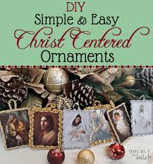 christian christmas tree ornaments to make a cozy cup of tea diy