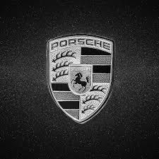 porsche logos 1996 porsche 911 emblem 0800bw55 photograph by jill reger