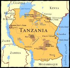 africa map landforms x x marks the spot tanzania is home of africa s most land