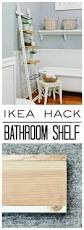 ikea shelf hack ikea hack bathroom shelf thistlewood farm
