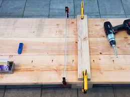 Building A Wooden Desk Top by How To Build A Solid Wood Desktop Using Framing Lumber