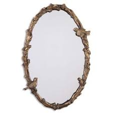Uttermost Mirrors Free Shipping Uttermost U0027fifi U0027 Etched Antique Gold Mirror Free Shipping Today