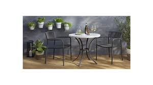 crate and barrel bistro table mosaic bistro table reviews crate and barrel