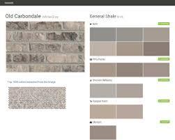 Valspar Paint Color Chart Old Carbondale White Gray Brick General Shale Behr Ppg Paints