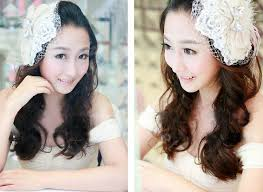 lace headwear buy wholesale wedding jewelry lace feather hairpin