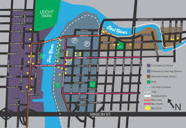Map Of Downtown Madison Wi Dtgb Parking