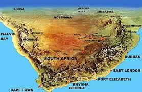 map of south africa south road maps self tours