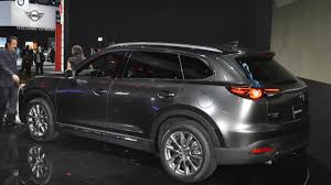 mazda van 2017 2017 mazda cx 9 unveiled with a new turbocharged engine
