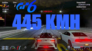 lexus lf lc performance gt6 drag lexus lf lc gt vgt x2 top speed 445 kmh setup 2015 ps3