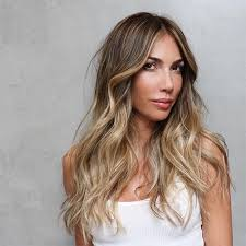 Light Brown Balayage Balayage Clip In Hair Extensions Golden Brown With Light Golden