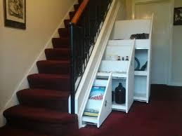 storage impressive under stairs storage walnut staircase