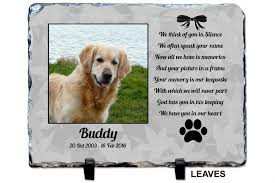 dog memorial pet memorial grave plaque
