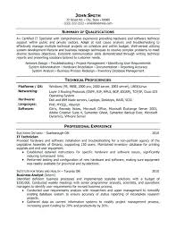 example it resume summary it resume examples sample it resume resume examples for teachers