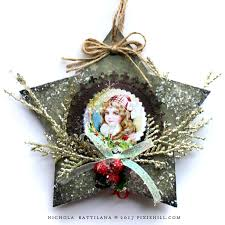pixie hill chipboard ornaments