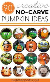 Pumpkin Decorating Without Carving 67 Best Decorated Pumpkins Images On Pinterest Fall Halloween