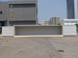 new 40 foot general purpose side open shipping containers for