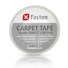 Rug To Carpet Tape Xfasten Double Sided Carpet Tape 2 Inch X 30 Yards