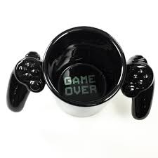 Cool Mugs Canada by Game Over Video Game Controller Ceramic Mug Gamer Coffee Mugs
