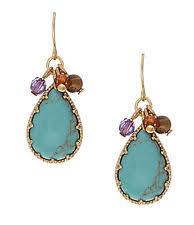 Ralph Lauren Chandelier Fashion Earrings Ralph Lauren Turquoise Fashion Earrings Ebay