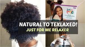 best relaxer for black hair 2015 natural to texlaxed just for me relaxer youtube