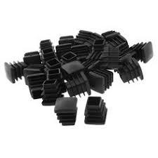 plastic table leg feet hgho plastic square pipe end caps tubing insert plugs 50x50mm 30 pcs