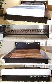 Japanese Low Bed Frame Japanese Low Bed Frame Zen Platform Bed Frame Walnut Japanese