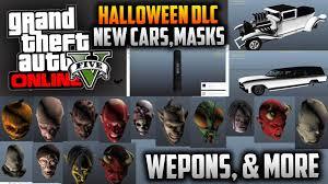 new halloween mask gta 5 halloween dlc update confirmed new cars 14 new masks