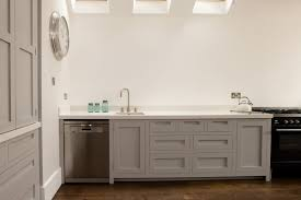 modern shaker kitchens southfields handleless shaker kitchen kitchens pinterest