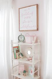 Pink Changing Table by Blush Pink Nursery Reveal Delightfully Noted