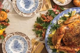 a southern thanksgiving menu