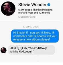 Stevie Wonder Memes - 25 best memes about friends memes and stevie wonder
