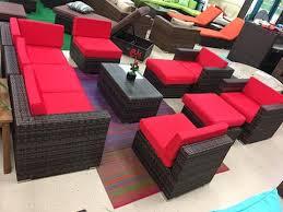 10 piece outdoor wicker patio furniture set rattan u2013 san diego