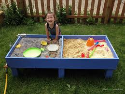 diy sand and water table pvc sand and water tables kids love rhythms of play