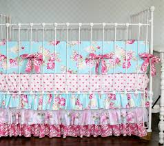 Shabby Chic Baby Bedding For Girls by Shabby Chic Crib Bedding Home Inspirations Design